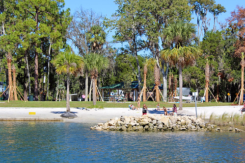 bay water waterfront beach park crystalriver florid