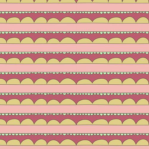 Scallop Stripe   by Jenni Freidman