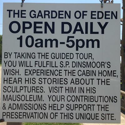 S. P. Dinsmoor's Garden Of Eden