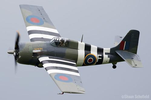 Grumman FM-2 Wildcat JV579/G-RUMW The Fighter Collection Old Warden 04/06/17 | by Shaun Schofield