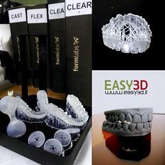 Dental 3d models, resina 3d sterolitografia Sla laser