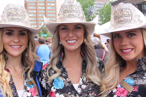 Pretty Women Calgary Stampede Queen And Princesses Flickr