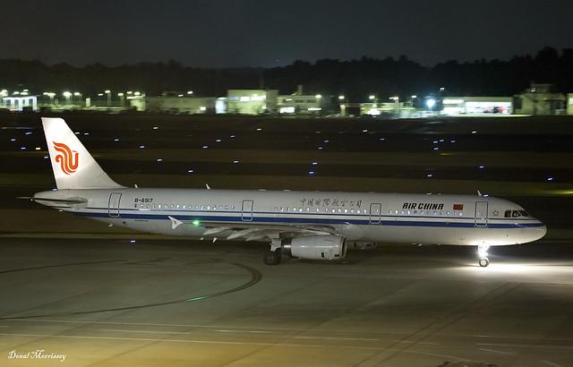 Air China A321-200 B-6917