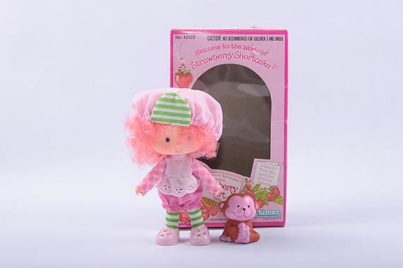 Vintage Strawberry Shortcake Doll In The Box Cherry Tart Flickr