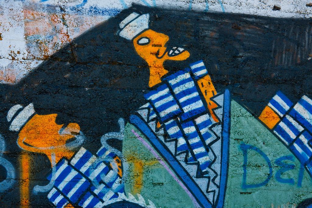 STREET ART AT THE OLD VICTORIAN TEA ROOMS [KILLINEY BEACH 2008]-129573