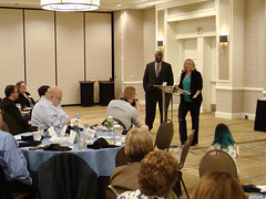2017 Equality Breakfast - Kelly DeLucia receives a Grassroots Award