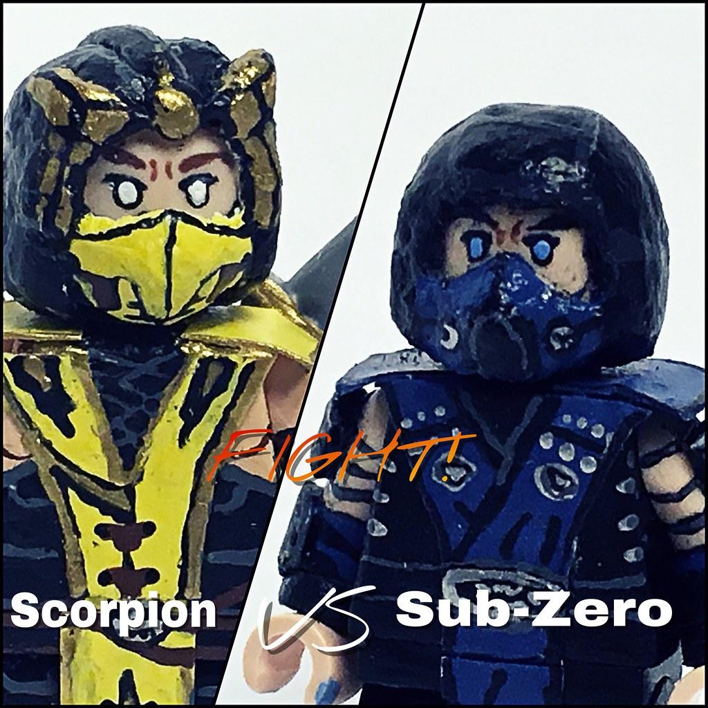 Scorpion VS  Sub-Zero | JQLegocustoms | Flickr