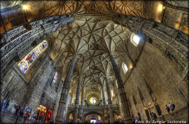 Portogallo # 18  (Monastero Dos Jerónimos Lisbona )