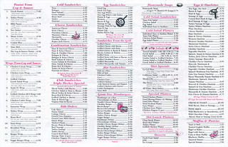 Cup & Saucer menu | by roboppy