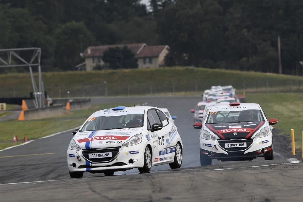 Clap de fin pour les Rencontres Peugeot Sport à Nogaro