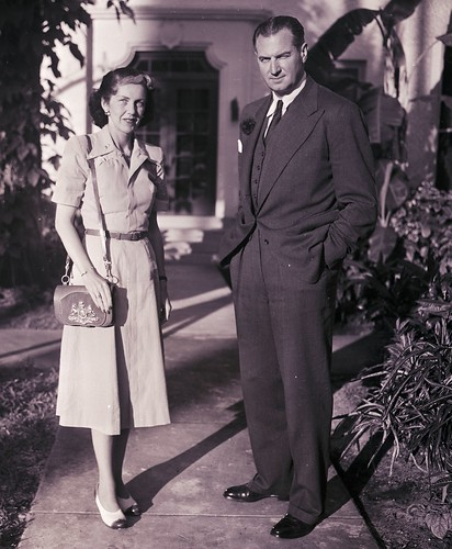 Mr. and Mrs. Lowell Weicker | by The Bert Morgan Archive