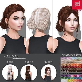 -FABIA- Mesh Hair   <Alina > | by FABIA.HAIR