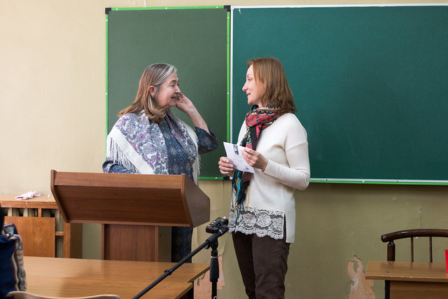 мая 23 2017 - 11:41 - Adriana Feoli Keseru и  Анна Ямпольская
