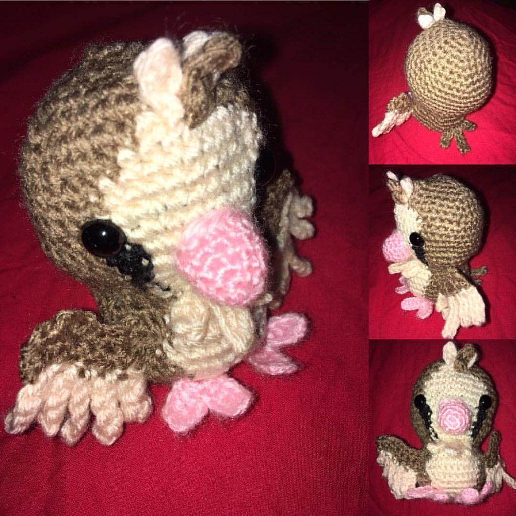 Pigeon Crochet PATTERN-Written in English UK Crochet Terms. | Etsy | 1024x1024