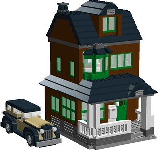 1920's Townhouse v2 - with MOON motor car | by Murdoch17