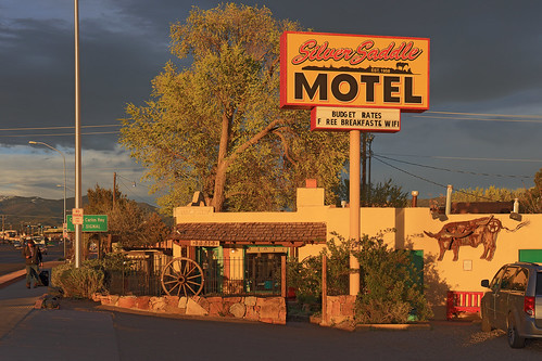 canon eos 6d canoneos6d canonef2470f4lisusm ef 2470 f4l is usm usa us united states america vereinigte staaten von amerika american southwest amerikanischer südwesten voyage travelling reise new mexico newmexico santa fe santafe silver saddle motel sunset sonnenuntergang silversaddlemotel hotel cerrillos road cerrillosroad