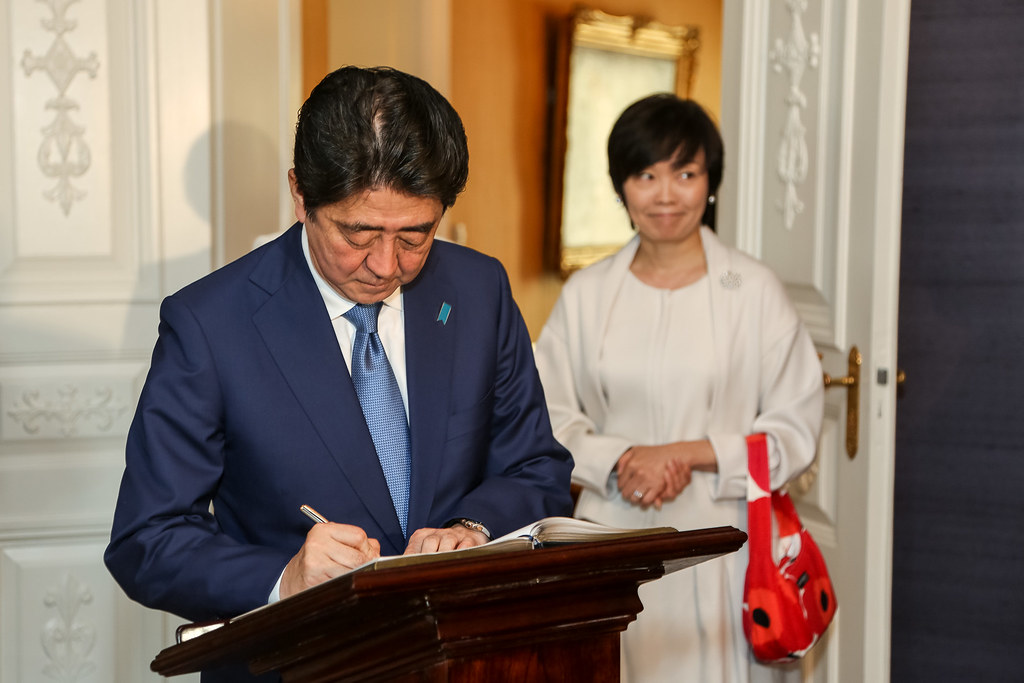 Official visit of Prime Minister of Japan Shinzō Abe and Mrs Akie Abe to Finland on 10 July 2017