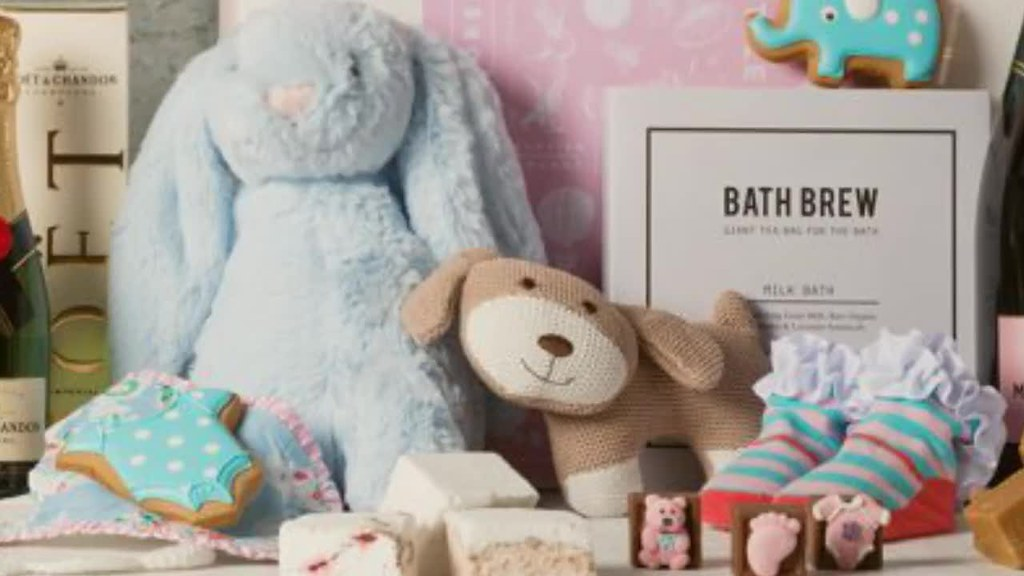 Baby Gift Hampers From Gourmet Basket