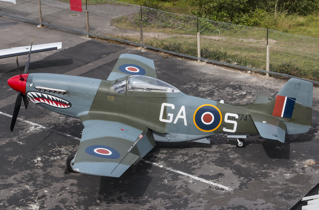 EGLK - North American P-51D Mustang - G-SHWN