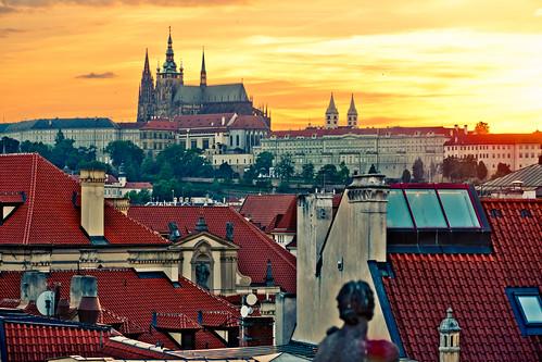 St. Vitus Prague at Sunset | by nan palmero