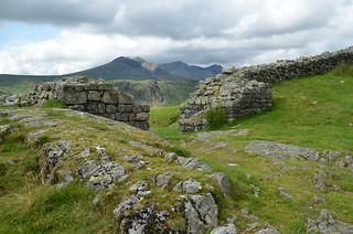 The West Gate, Hardknott Roman Fort, Lake District, UK