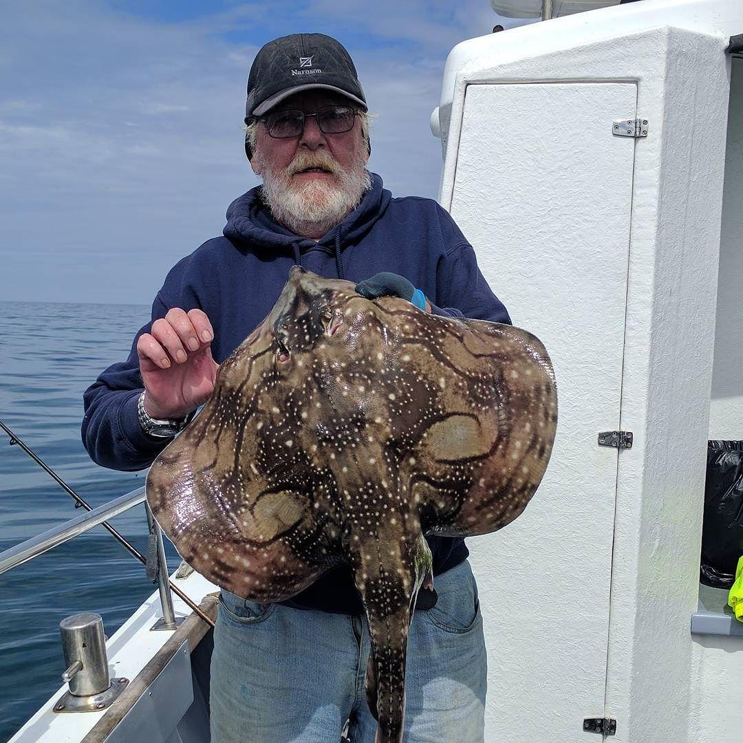 Jeff and his Undulate #amarisaweymouth #undulateray #fishingtrip #fishinguk