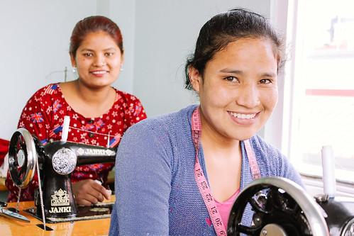 Nepal 'She Has Hope' home currently housing 16 trafficking survivors; recent graduate now profiting from her new business at 3 times above poverty line | by Peace Gospel