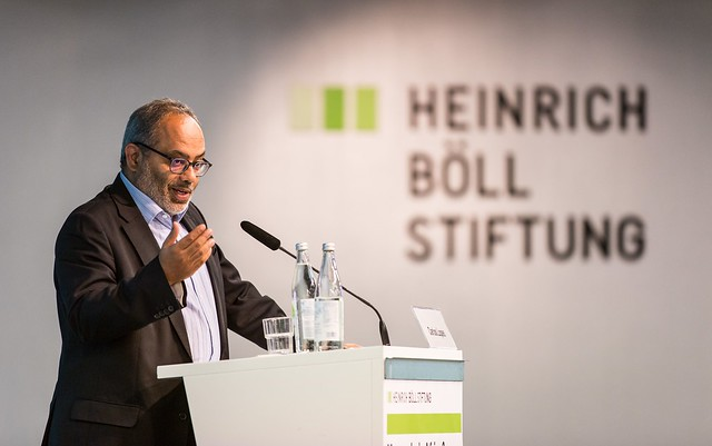 Keynote by Dr. Carlos Lopes (c) Joerg Farys | Heinrich Boell Foundation