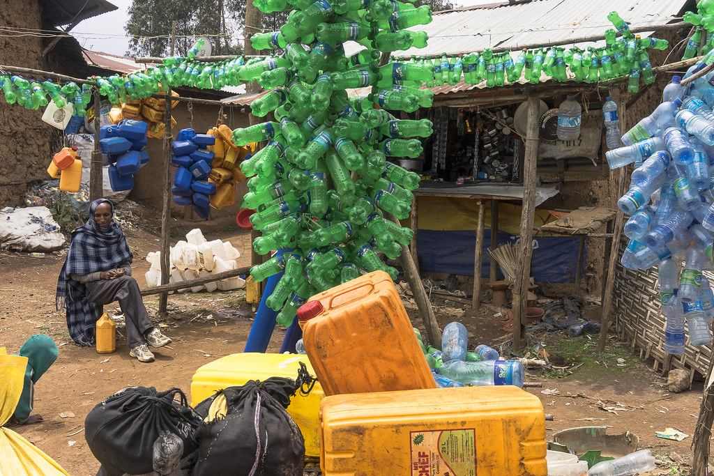 Gish Abay bottles for sale for holy water of Nil | georges