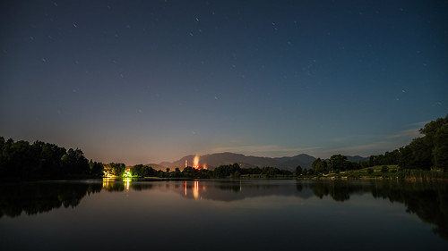 night landscape outdoor nature lake fullmoon midnight serene serenity dyxum sonyilca99m2 cz2470 longexposure