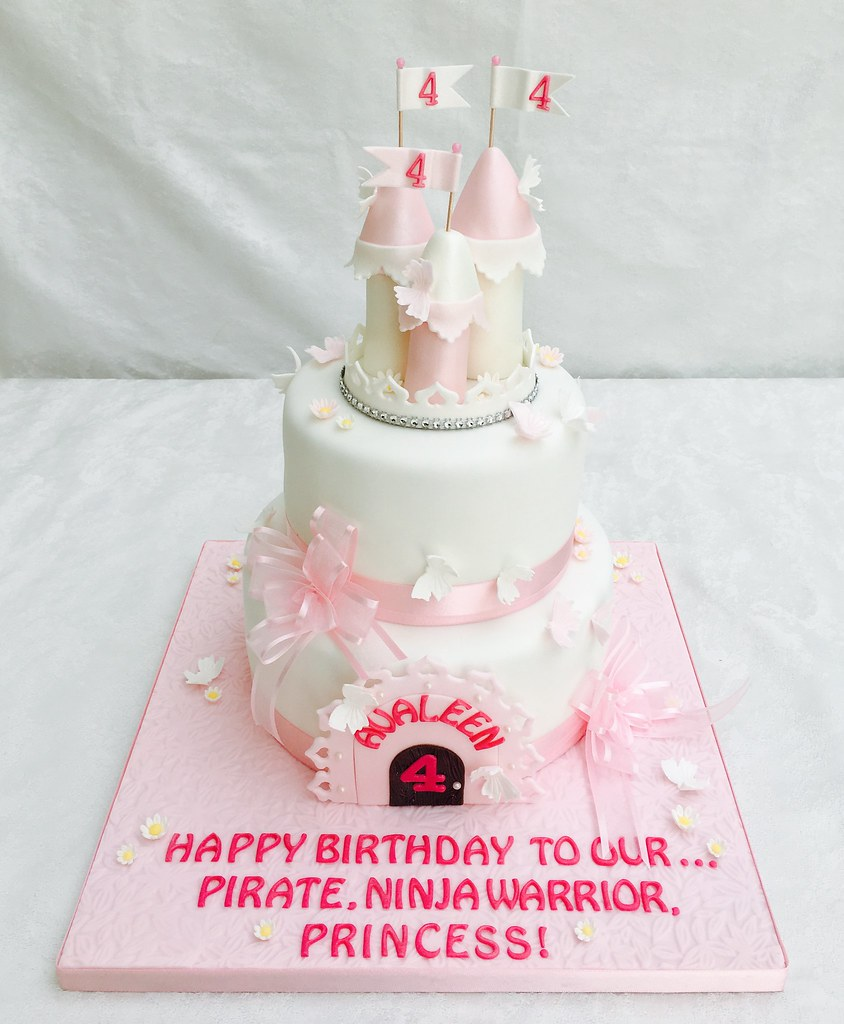 A perfect birthday cake for a birthday princess  | Green