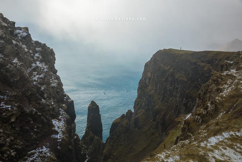 Beinisvørð cliff