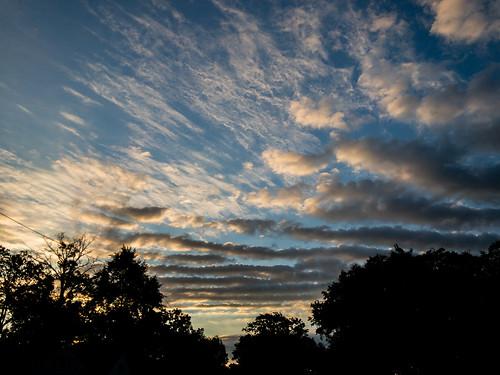 sunrise landscape bayvillage ohio unitedstates us