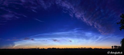 Leuchtende Nachtwolken am 3. Juli 2017 #1   by astrofan80
