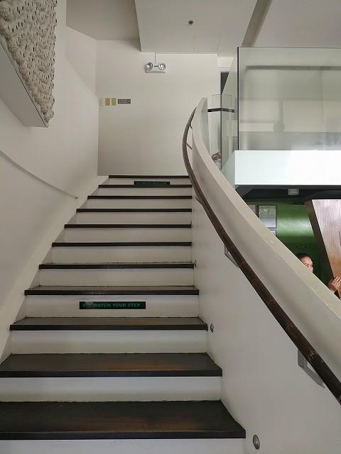 <p>施術室は2階です</p>