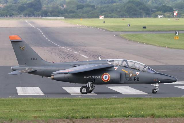 E163 Alpha Jet FAF RAF Northolt 2.6.17