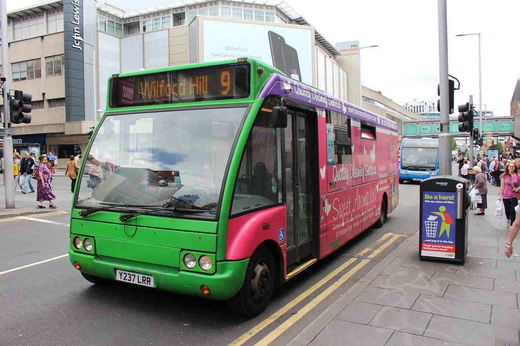 237 Y237LRR Nottingham City Transport