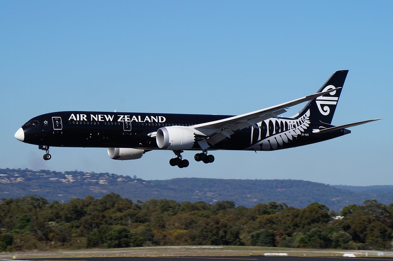 ZK-NZE Air New Zealand Boeing B787-9 Dreamliner
