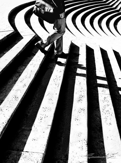 Walking on lines