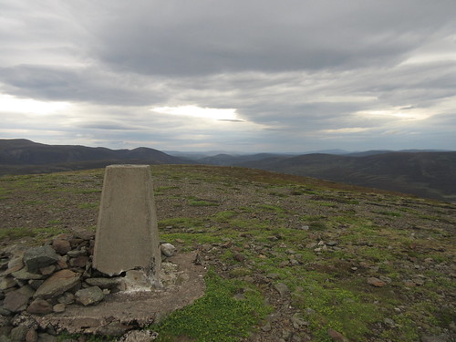 Summit of Culardoch looking east (and looking moody)   by malky_c
