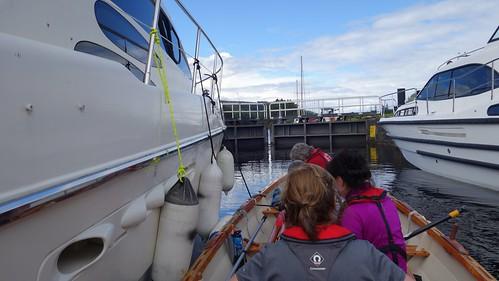 Rafting at Laggan locks