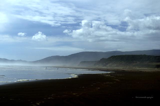 Playa de Cucao. Isla Grande de Chiloé. Océano Pacifico.
