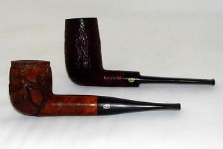 A Pair Of Vintage GBD Briar Tobacco Pipes, Top - Prehistor… | Flickr