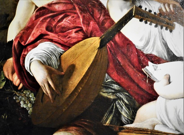 Lute - Detail of
