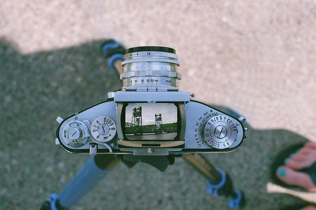 Lift Bridge through Exakta lens