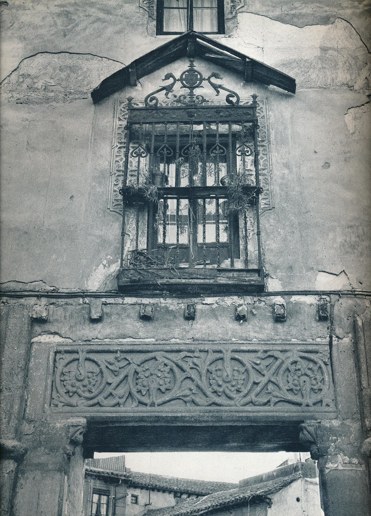 Reja del Corral de Don Diego, obra de Julio Pascual, en Toledo hacia 1967 por Marc Flament.