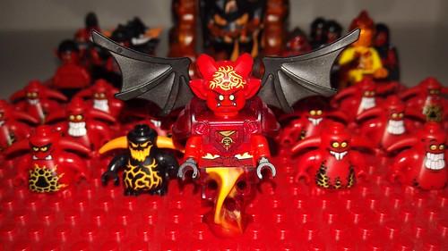 Lava Monster troops | by Ragni Norgrimson