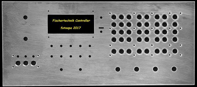 Fischertechnik controller frontplaat P6207080.