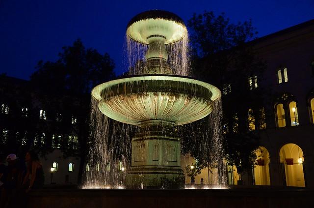 Munich - University Fountain