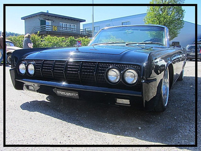 Lincoln Continental MkIV Convertible, 1963